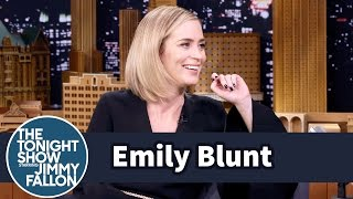 getlinkyoutube.com-Emily Blunt's Kids Are Picking Up Their Dad's American Accent