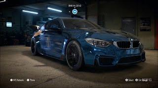 getlinkyoutube.com-Need For Speed 2015 - BMW M4 2014 - Customize Car | Tuning (XboxONE HD) [1080p]