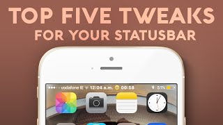getlinkyoutube.com-5 Cydia Tweaks For Your Statusbar - iOS 9 - 9.0.2 Jailbreak Cydia Tweak