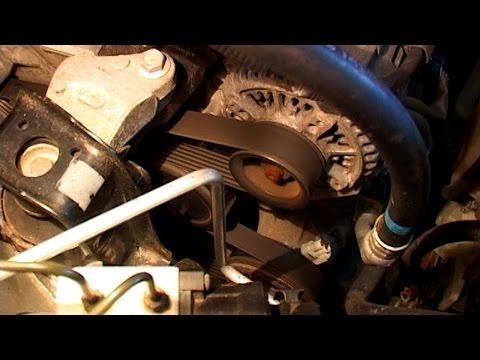 Замена приводного ремня Corolla E120