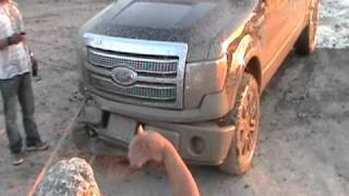 getlinkyoutube.com-Pharr, Texas mudpit 4x4 trucks mudding Sunday
