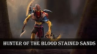 getlinkyoutube.com-Dota 2: Store - Bounty Hunter - Hunter of the Blood Stained Sands Set