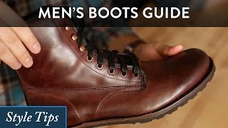 getlinkyoutube.com-How to Wear Men's Boots - A High Level Style Guide