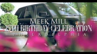 getlinkyoutube.com-Meek Mill 25th Birthday Celebration in Philadelphia (Gets 2012 Range Rover from Rick Ross)