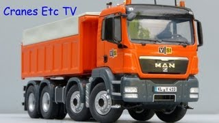 getlinkyoutube.com-NZG MAN TGS Rear Tipper Truck 'VSI' by Cranes Etc TV