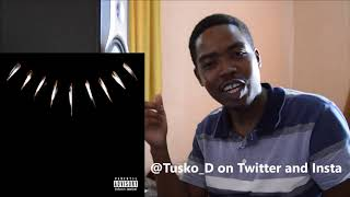 Babes Wodumo, Zacari - Redemption REACTION. || BLACK PANTHER ALBUM REVIEW/REACTION.