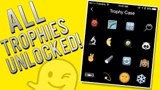 getlinkyoutube.com-How To Unlock ALL Snapchat Trophies - Full Achievement List