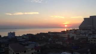 getlinkyoutube.com-ดูพระอาทิตย์ขึ้นยามเช้าหัวหิน คนตื่นสายงานนี้หมดสิทธิ์เห็น- HuaHin Thailand