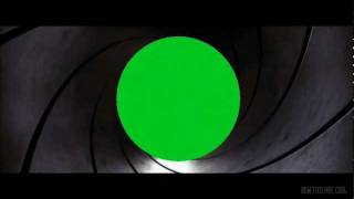 getlinkyoutube.com-Green Screen Gun Barrels (Connery, Brosnan & Craig)
