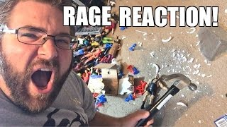 getlinkyoutube.com-RAGING FAT MAN SMASHES WWE TOYS in REACTION TO WRESTLING MATCH!