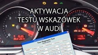 getlinkyoutube.com-Jak aktywować test wskazówek w Audi (VCDS, VAS, VAG-COM) A1 A3 A4 A5 A6 A7 A8 Q7 2008+