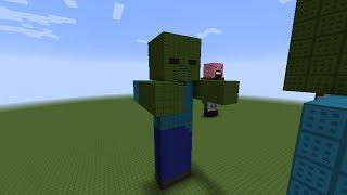 getlinkyoutube.com-как построить Зомби(Zombie) в minecraft
