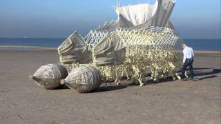 getlinkyoutube.com-Strandbeest with stomach technology