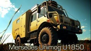 getlinkyoutube.com-Mersedes Unimog U1850 - Полный обзор (2013)