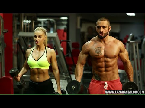 @Lazar_Angelov & Yanita #BeautyAndTheBeast Workout