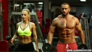 getlinkyoutube.com-Lazar Angelov & Yanita #BeautyAndTheBeast Workout