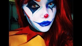 getlinkyoutube.com-Circus Freak - Clown Makeup