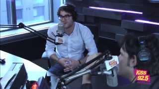 getlinkyoutube.com-Glee Star Darren Criss In Studio | Interview | The Roz & Mocha Show on KiSS 92.5