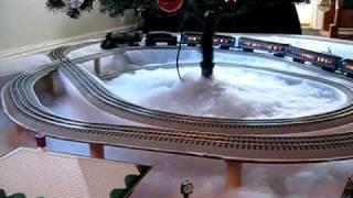 getlinkyoutube.com-Polar Express Train Layout