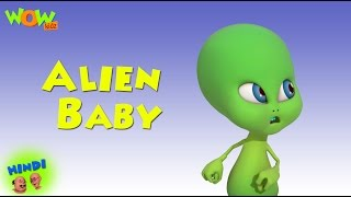 getlinkyoutube.com-Alien Baby - Motu Patlu in Hindi