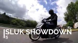 SLUK | Honda PCX 125 vs Piaggio Medley 125 scooter road test review