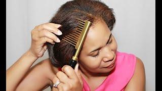 getlinkyoutube.com-Straight Fast Hair Straightening Comb