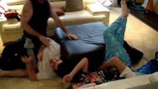 getlinkyoutube.com-Johnny & Christian Wrestling: The Family that Wrestles Together