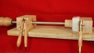 getlinkyoutube.com-Pen Press and Pen Makers Vise Solution #16