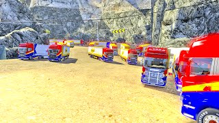 ETS2 Multiplayer | Huge Convoy (Euro Truck Simulator 2 Multiplayer)