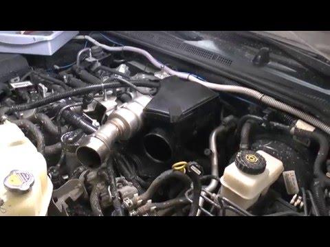 Замена клапана EGR Nissan Pathfinder 3.0 Disel V9X Часть2