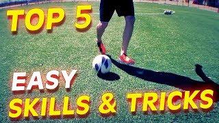 getlinkyoutube.com-Top 5 Easy Football Skills & Tricks To Learn For Beginners