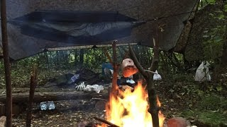 getlinkyoutube.com-1 NIGHT HAMMOCK CAMP AND EPIC SPIT ROAST