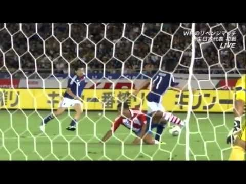 Japan 1-0 Paraguay 04.09.2010 Shinji Kagawa's best scenes and goal