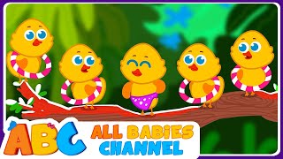 getlinkyoutube.com-Five Little Ducks | Nursery Rhymes and Kids Songs | Songs for Children By All Babies Channel