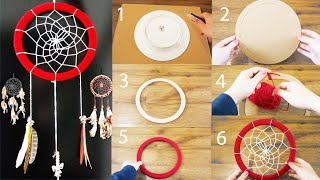 getlinkyoutube.com-DIY: Super Easy Way to Make a Dreamcatcher | Step by step! Easy tutorial! DIY With DianaTA