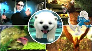 getlinkyoutube.com-The Smurfs 2 All Bosses | Final Boss (PS3, X360, Wii)