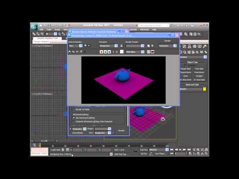 3DS Max 2011 - Scene Rendering