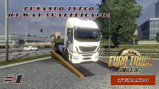 getlinkyoutube.com-Tunando no Euro Truck Simulator 2   #1 Tunando IVECO Hi Way Qualificado!