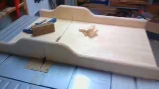 getlinkyoutube.com-My big table saw sled