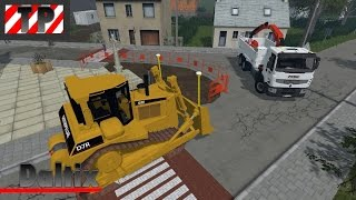 getlinkyoutube.com-FS15 | Map Daltix #1 | Travaux publics, le retour ... [Live]