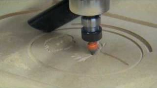 getlinkyoutube.com-Coner CNC router, material MDF