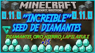 getlinkyoutube.com-¡Super Seed de Diamantes!para Minecraft Pocket Edition 0.15.6 |Seeds