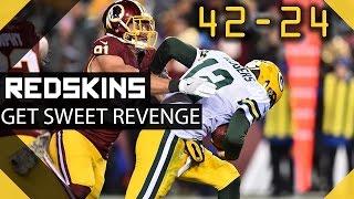 getlinkyoutube.com-Redskins Get REVENGE vs Packers - Where are the Kirk Haters?