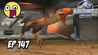 AVE DEL TERROR JURASSIC WORLD! DINOSAURIOS QUE SOBREVIVIERON! // #JurassicWorld: El Juego #147 HD