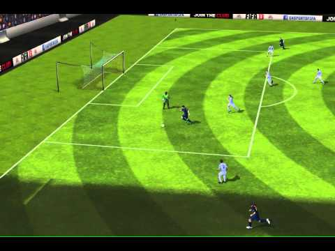 FIFA 13 iPhone/iPad - Málaga CF vs. FC Barcelona