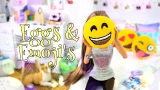 getlinkyoutube.com-DIY - How to Make: Felt Eggs & Emoji Pillows - PINTEREST - Handmade - Crafts