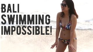 getlinkyoutube.com-Bali, Dreamland beach - swimming impossible! (pantai dreamland pecatu bali Indonesia, Bali, 2013)