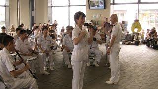getlinkyoutube.com-[三宅由佳莉] 唱歌『夏の思い出』 - 海上自衛隊東京音楽隊
