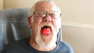 getlinkyoutube.com-GRANDPA HATES PICKLED EGGS! *Vomit Alert*