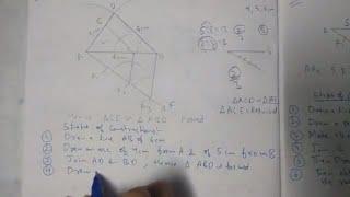 Chapter 11 Exercise 11.1 (Q2) Constructions of maths class 10 NCERT